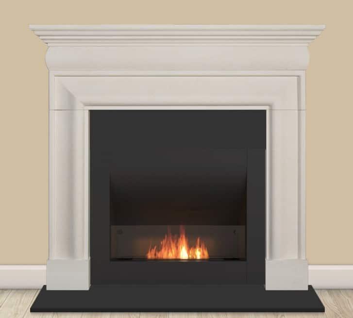 Traditional bio ethanol fire